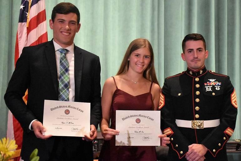 Senior Awards 2019.U.S. Marine Corp Scholastic Excellence Award.JPG