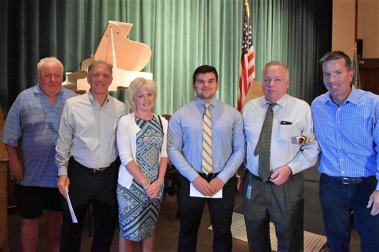 Senior Awards 2019.Joseph F Luzzi Memorial Scholarship.JPG