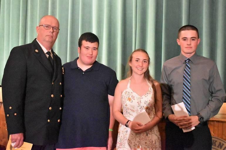 Senior Awards 2019.Denville Fire Department Association William Green Memorial Scholarship.JPG