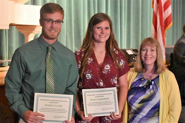 Senior Awards 2019.Denville Community Church Builders Fund Scholarship.JPG