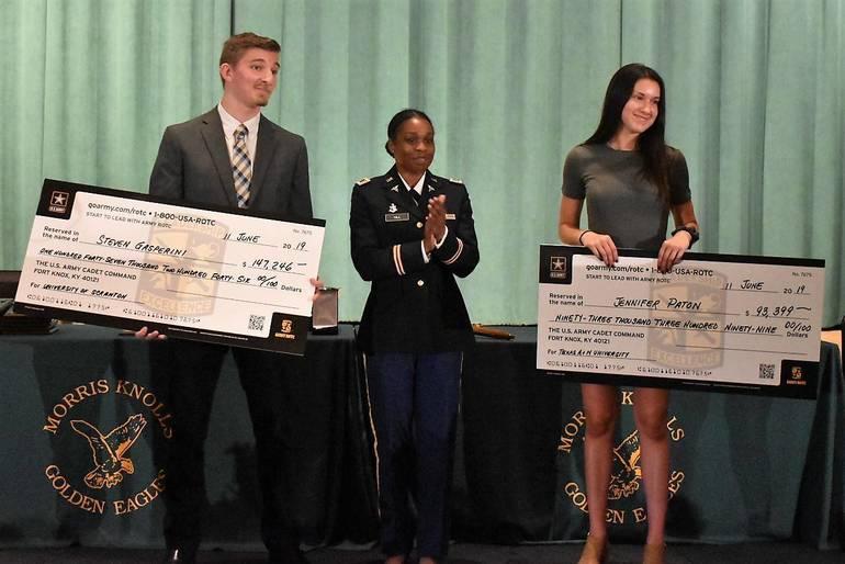 Senior Awards 2019.Army ROTC Full Tuition Scholarship.JPG