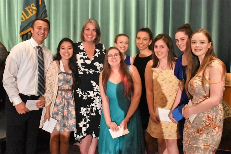 Senior Awards 2019.Rockaway Township Education Association Award.JPG