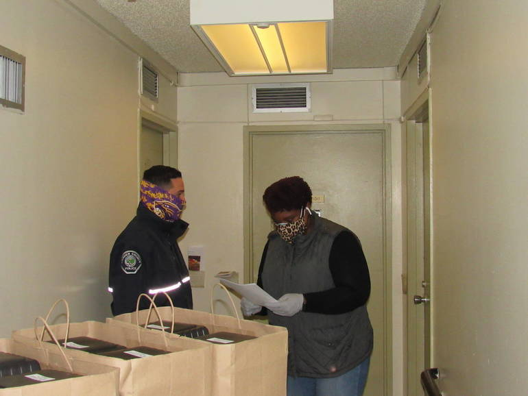 Cooper Gifts Meals to Camden Seniors for Thanksgiving Day