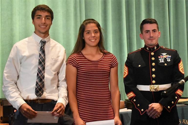 Senior Awards 2019.U.S. Marine Corp Athletic Excellence Award.JPG