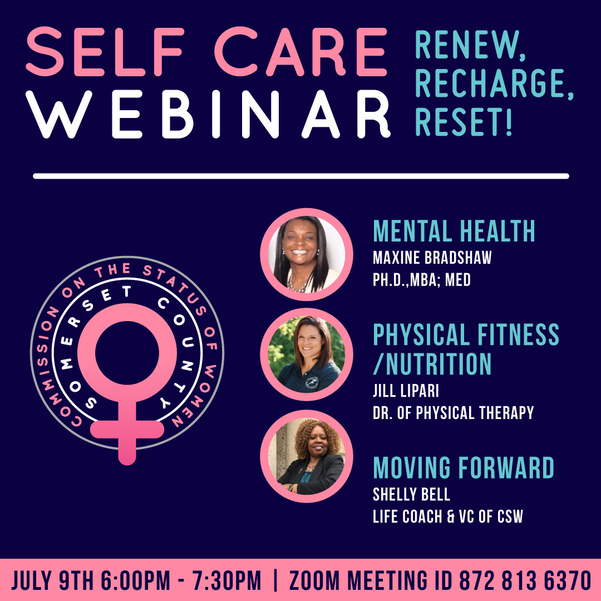 Self-care webinar for women