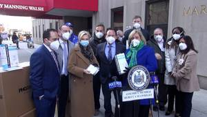 Assembly Member Seawright Secures 7,000 N95 Masks for Distribution