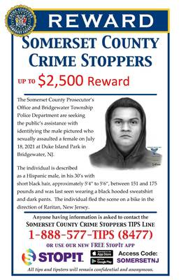 Crime Stoppers Offering Reward Leading to Arrest of Sexual Assault Suspect