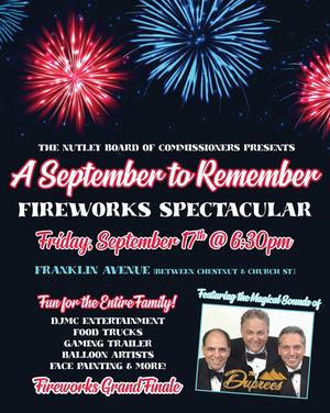 Nutley NJ, Nutley Events, Nutley Fireworks, Nutley Calendar, Whats Up Nutley