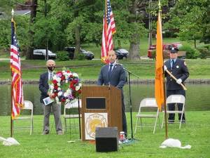 Montclair Holds Memorial Day Ceremony; Mayor Spiller Honors Sacrifice of Local Residents