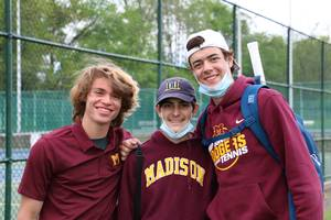 Madison Boys' Tennis Stays Even At 3-3
