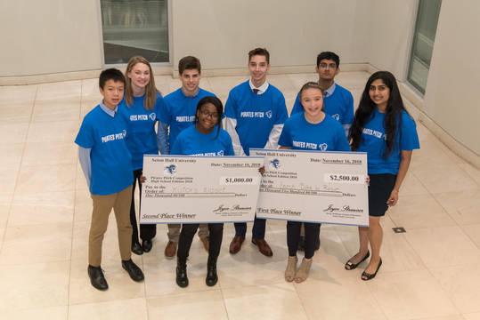 Top story e94d31ae60d3b02d1470 seton hall high school entrepreneurs