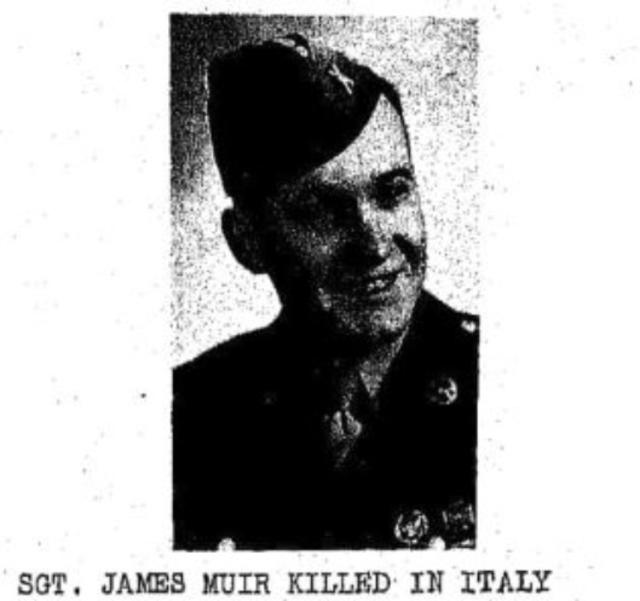 Sgt. James Muir of Scotch Plains