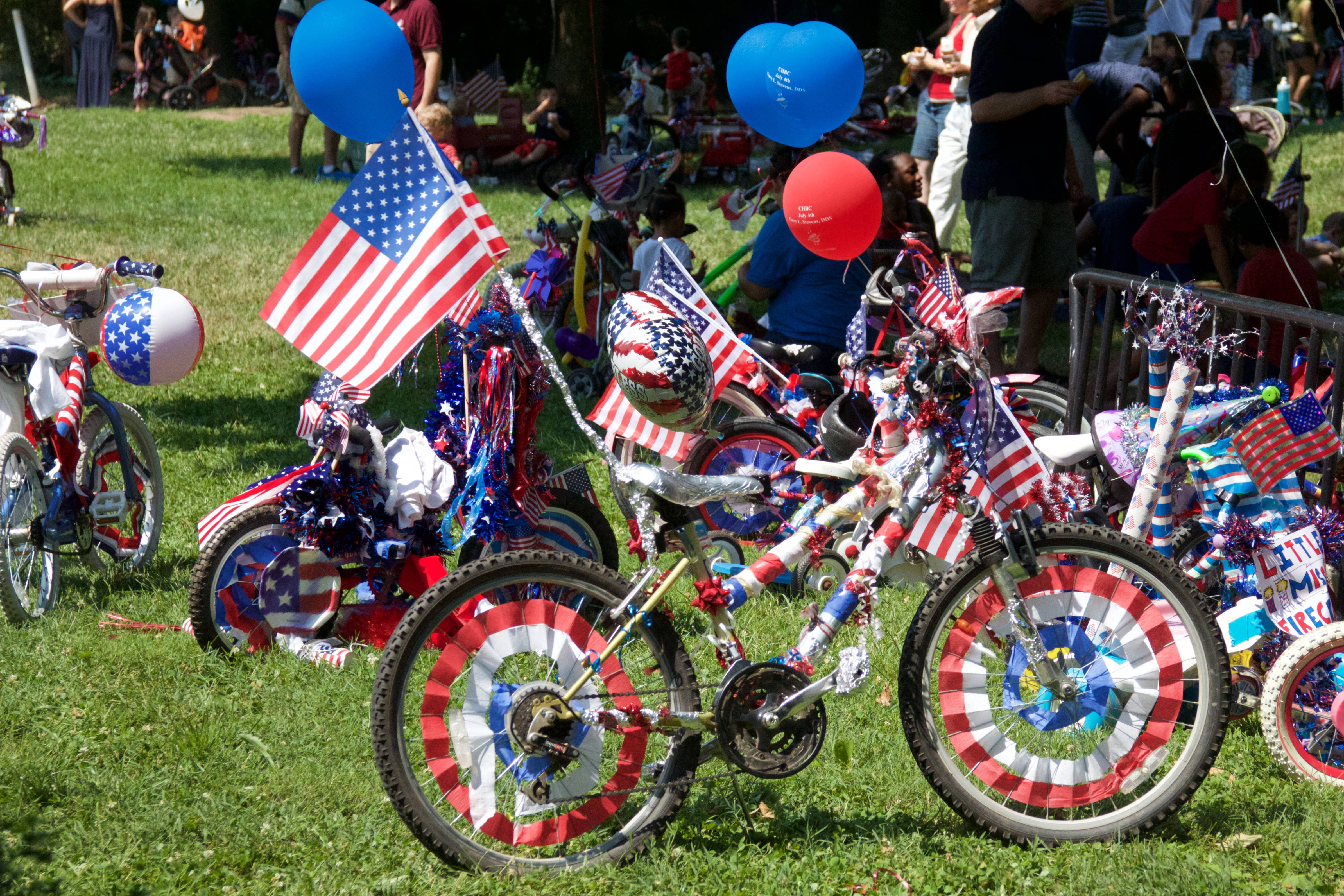 Gladwynne Lower Merion Memorial Day Parade patriotic bikes