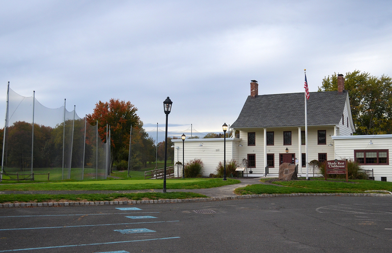 The historic Shady Rest Clubhouse in Scotch Plains.