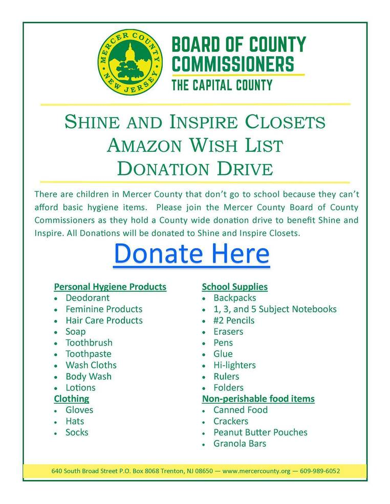 Annual Winter Donation Drive Launched to Help Students 'Shine and Inspire'