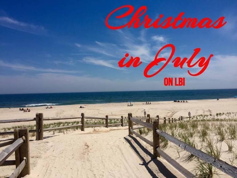Ship Bottom Beach Christmas in July Edit