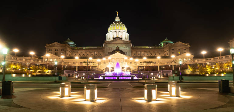 shutterstock_1240404790 PA Capitol Building Lighted.jpg