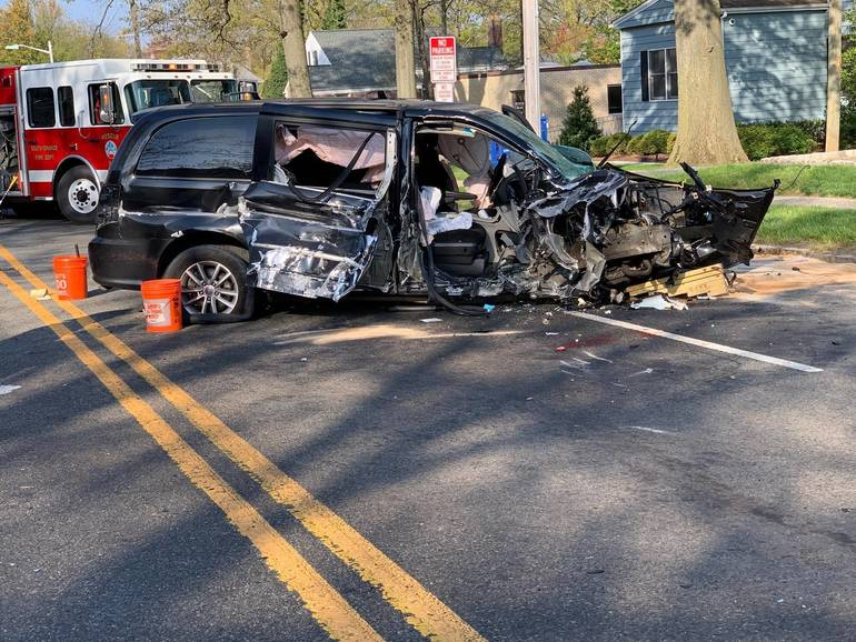 One Car Accident on South Orange Avenue