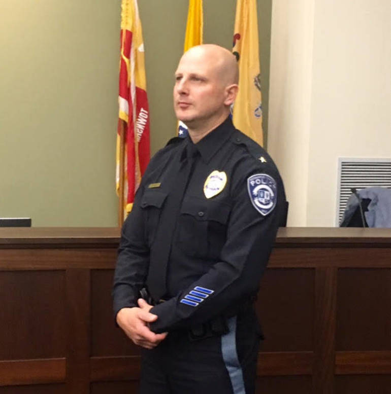 Bernards Police Chief Michael Shimsky