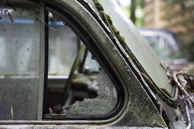 Lower Merion Township PA Smashed Car Vent Window.jpg