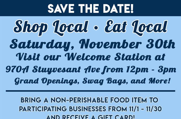 Union Center's Shop Local, Eat Local Event Set for November 30