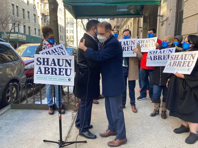 Mark Levine Endorses Shaun Abreu in District 7 Council Race