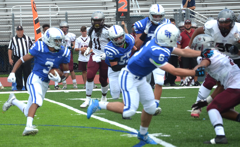 Scotch Plains-Fanwood running back Shawn Martin is this week's Joint Motion Physical Therapy Athlete of the Week.