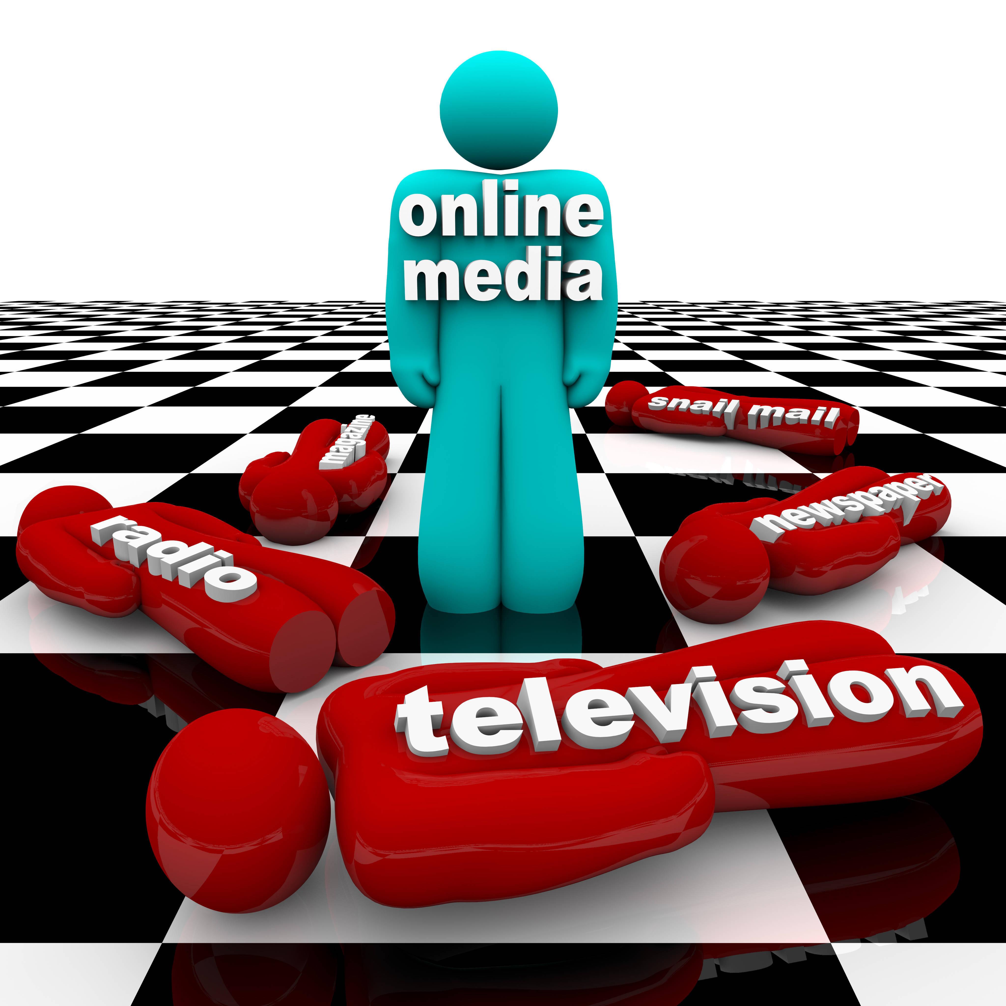Lower Merion print news falls below social media
