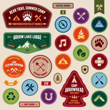 Top story 688f513472aabee081a3 shutterstock 126720047 girl scout badges