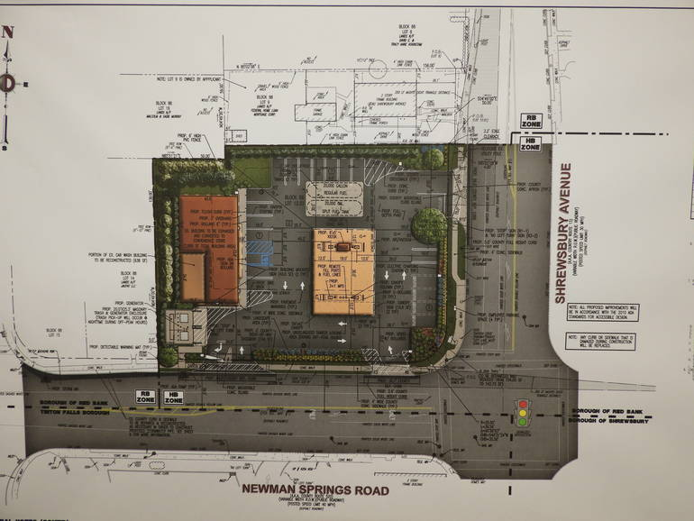 Site Plan for Shell station and new convenience store .JPG