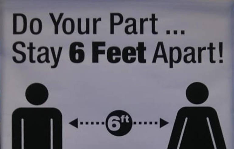 Sign_reminding_shoppers_to_keep_6_feet_apart_during_COVID-19_pandemic,_Shop_Rite,_Montgomery,_NY.jpg