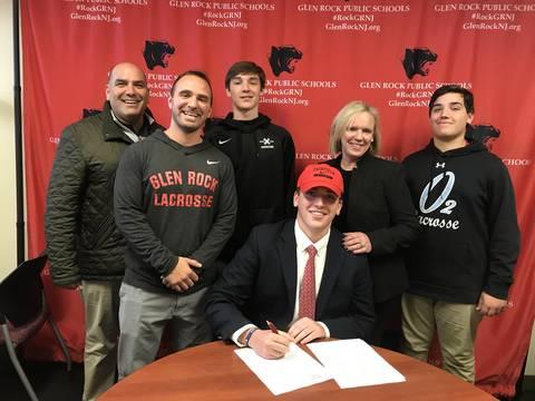 Glen Rock Senior Colin Consoli Commits to Fairfield University Lacrosse Program - TAPinto.net