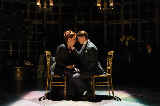 Top story 6a8a2ad7e0c68982c6a1 sierra boggess and andrew veenstra in the age of innocence. photo by t. ...