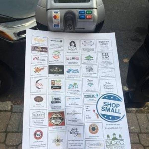 Free Parking In Nutley for Small Business Saturday
