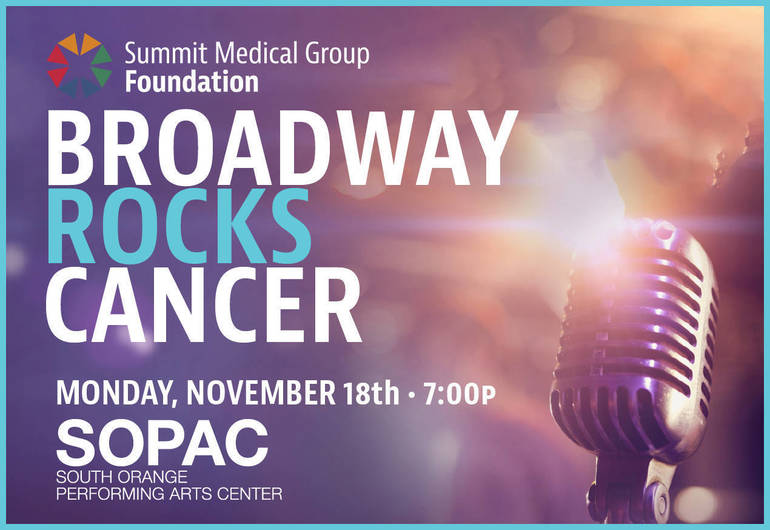 Shining Stars of the Great White Way to Light Up Broadway Rocks Cancer at SOPAC