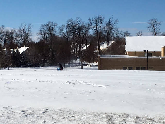 A snow day at Mount Prospect School