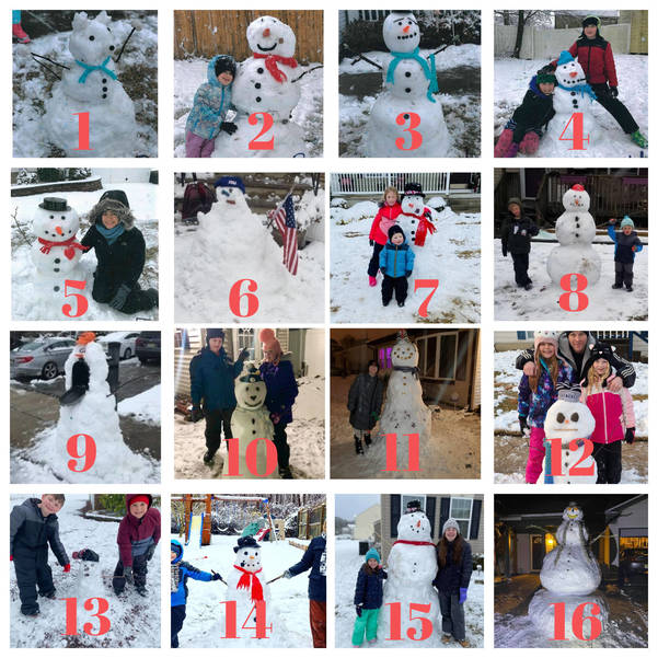 How to Vote for Your Favorite Barnegat Snowman