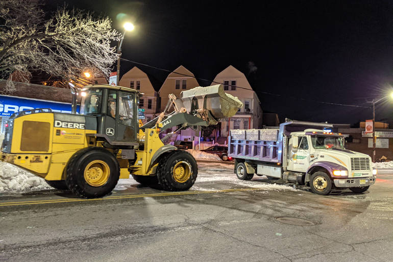 North Ward's Business Improvement Districts Behind Snow Removal Job
