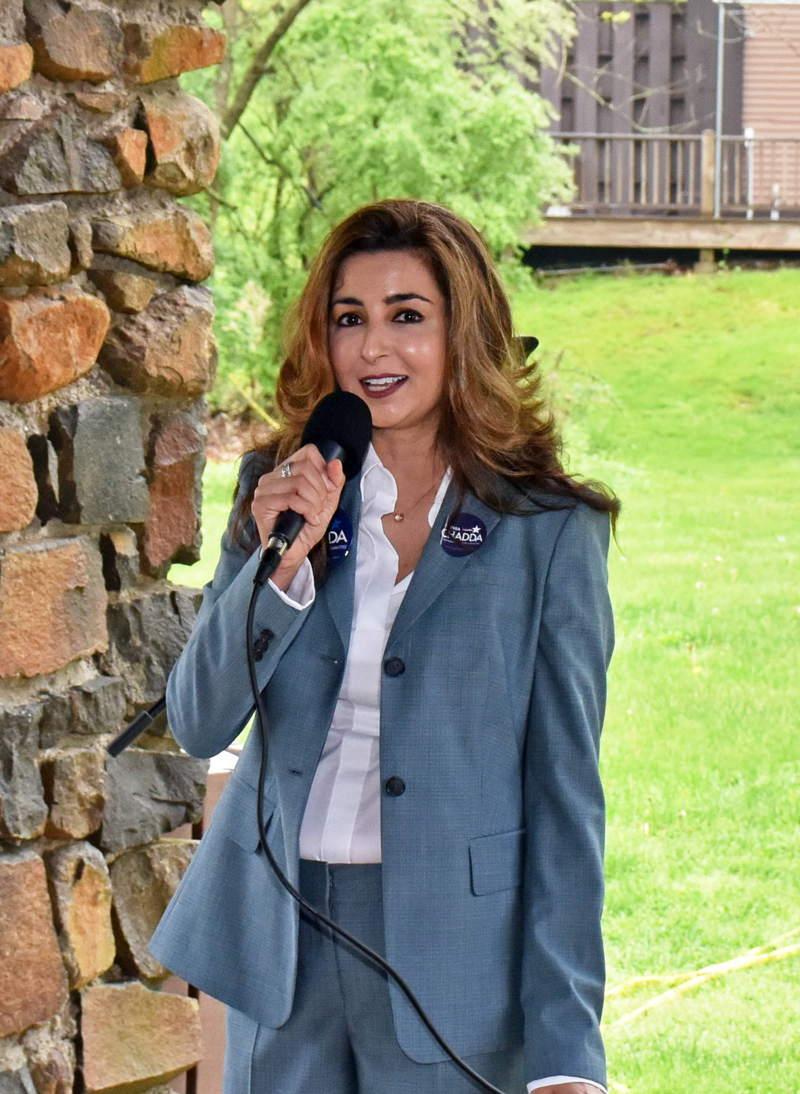 Sophia Chadda, Democratic candidate for Township Committee