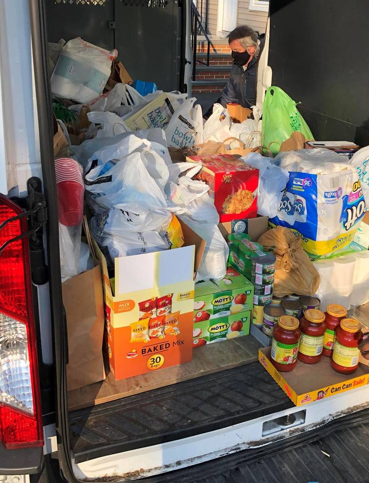 Somerset County Democrats Donate Food on Martin Luther King Day