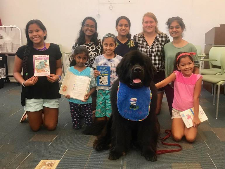 """""""Study Buddies"""" Bring Tank to Somerville Library"""