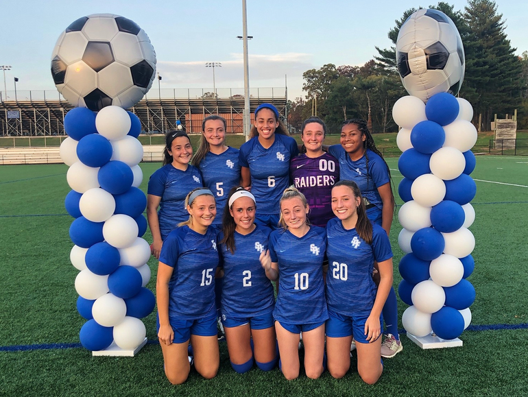 Scotch Plains-Fanwood seniors on Oct. 20, 2020