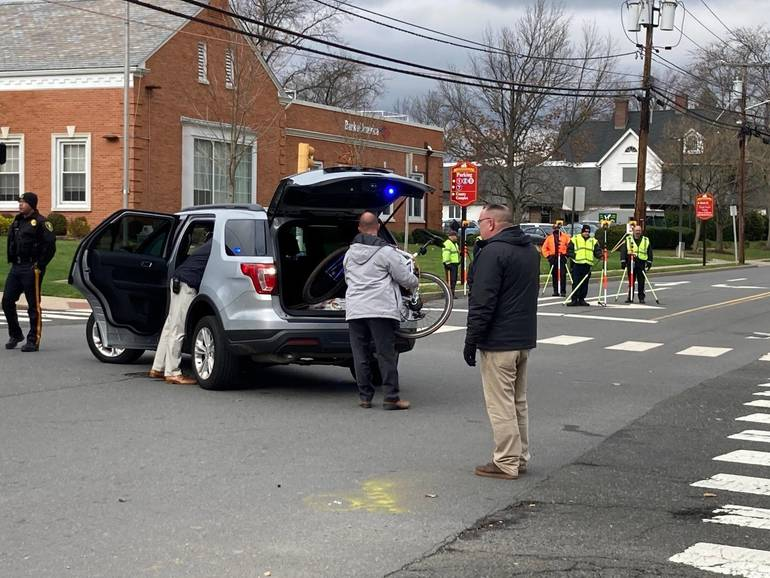 Somerville Bicyclist Struck by SUV Outside County Prosecutor's Office