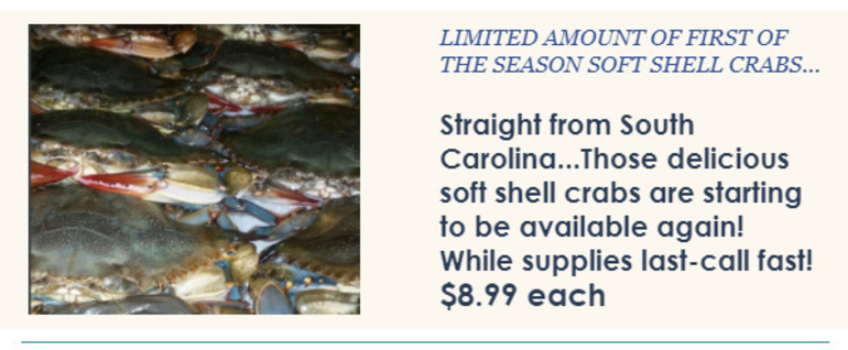 Lusty Lobster - Soft Shells,  East and West Coast Oysters, Fresh New England Haddock, and More