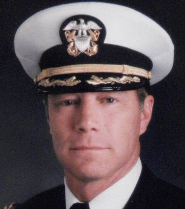 Patriots Honor Former Seal Team VI Commander