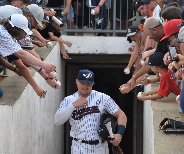 Patriots Shut Out Flying Squirrels, Voit's Single Scores Two Runs