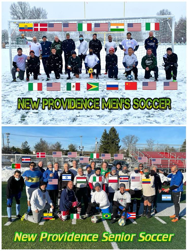 Love, Respect and Unity - NP Adult Soccer Comes to Mind