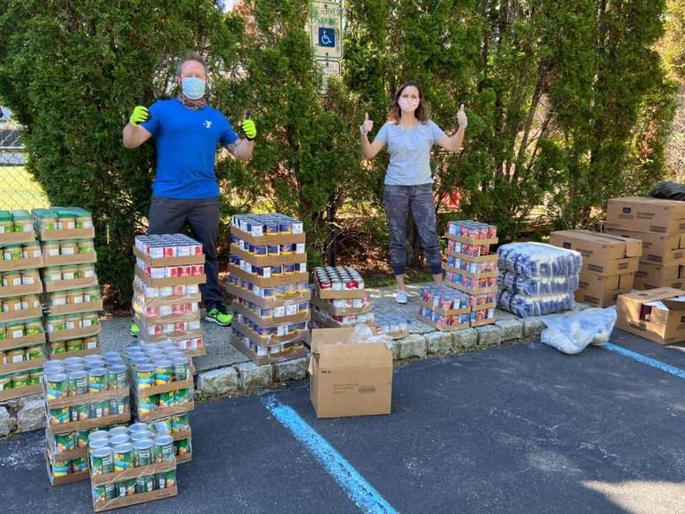 South Mountain, East Orange YMCAs Helping to Distribute Food