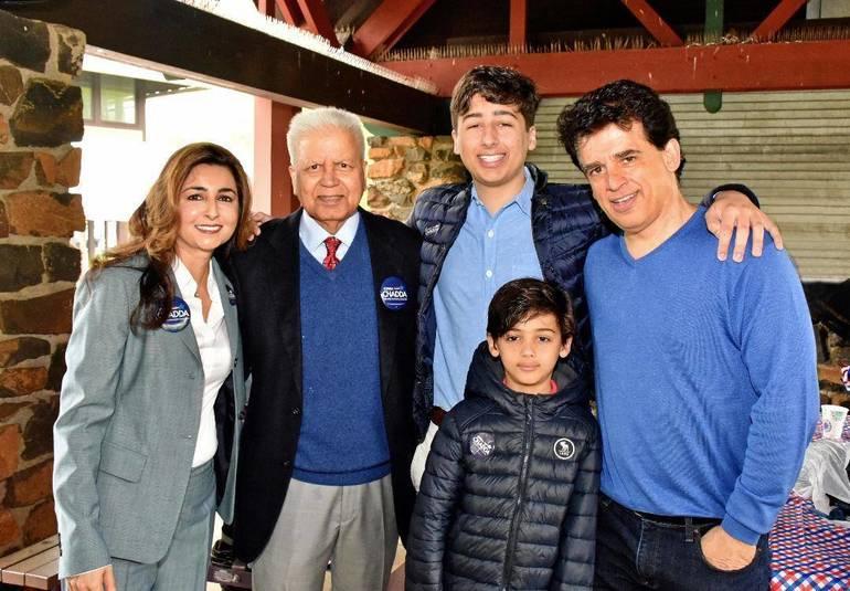Sophia Chadda and family