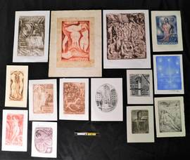 Saved from the Flood: Extensive Collection of European Bookplates to be Sold